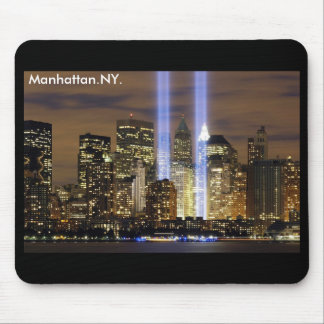 Manhattan Skyline New York Mouse Pad