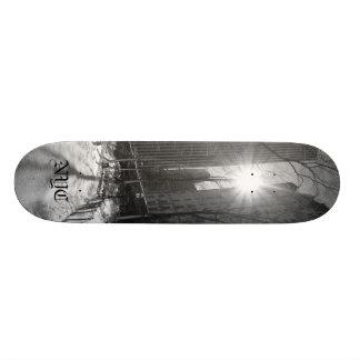 Manhattan skyline,  NYC Skateboard