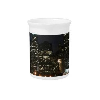 Manhattan Skyline Pitcher