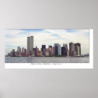 Manhattan Skyline Posters