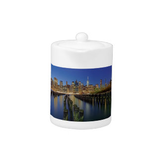 Manhattan skyline teapot