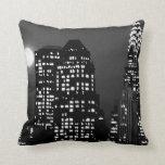Manhattan Skyline Throw Pillows