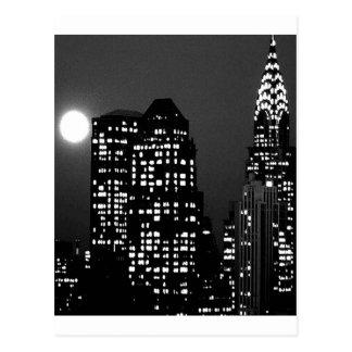 Manhattan Skylines Postcard
