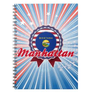 Manhattan, TA Libros De Apuntes Con Espiral
