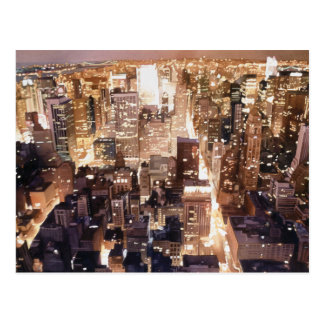 """Manhattan Tapestry"" New York Art Postcard"