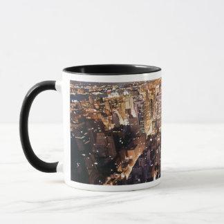 """""""Manhattan Tapestry"""" New York Watercolor Mug"""