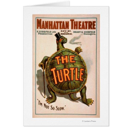 Manhattan Theatre New York Broadway The Turtle Card