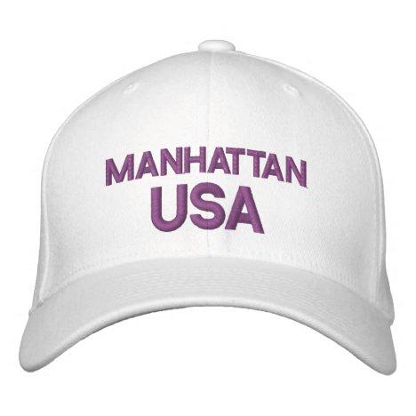 Manhattan USA Cap