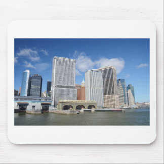Manhattan viewed from the water. mouse pad
