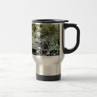 Manhattan Water Fountain Stainless Steel Travel Mug