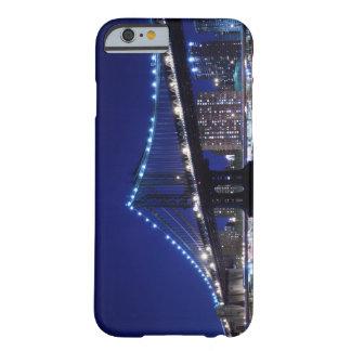 Manhattanbrücke und -Skyline nachts Barely There iPhone 6 Case