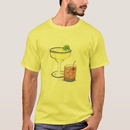 Manhattans & Margaritas | Customizable T-Shirt
