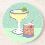 Manhattans y personalizable de los Margaritas el | Posavasos Manualidades