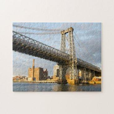 USA Themed Manhatten Bridge New York. Jigsaw Puzzle