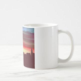 Manhatten Memories Classic White Coffee Mug