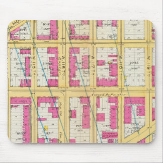 Manhatten, New York 11 Mouse Pad