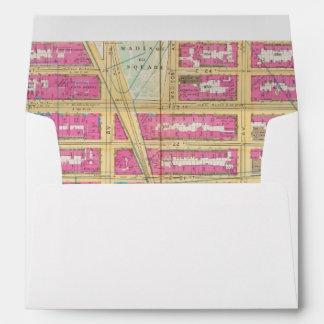 Manhatten, New York 12 Envelopes