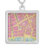 Manhatten, New York 21 Personalized Necklace