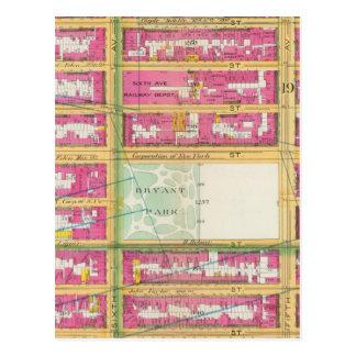 Manhatten, New York 6 Postcard