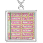Manhatten, New York Personalized Necklace