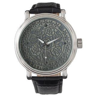 Manhole Cover 2 Wrist Watch