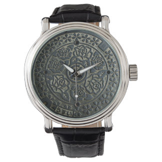 Manhole Cover 2 Wristwatch