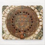 Manhole Cover 4 (Prague) Mousepad