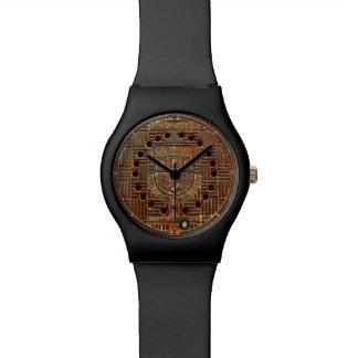 Manhole Cover 4 (Prague) Wristwatch