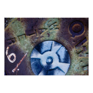 Manhole Cover Medley Poster