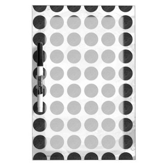 Manhole Covers Black Marble Dry Erase Board