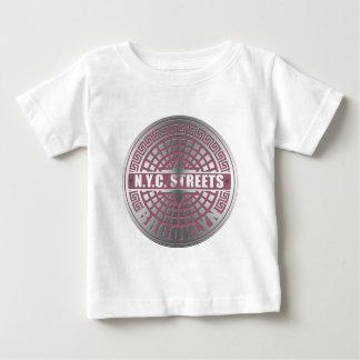 Manhole Covers Brooklyn Baby T-Shirt
