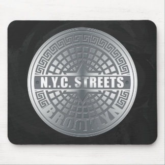 Manhole Covers Brooklyn Mouse Pad