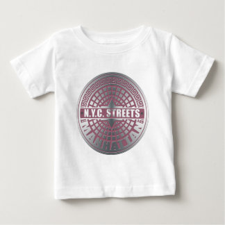 Manhole Covers Manhattan Baby T-Shirt