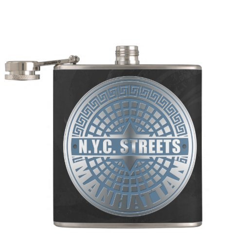 Manhole Covers Manhattan Flasks