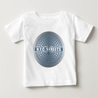 Manhole Covers NYC Baby T-Shirt
