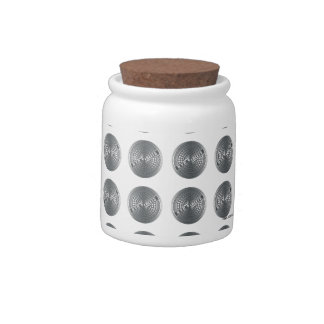 Manhole Covers NYC Candy Jar