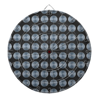 Manhole Covers NYC Dartboard With Darts