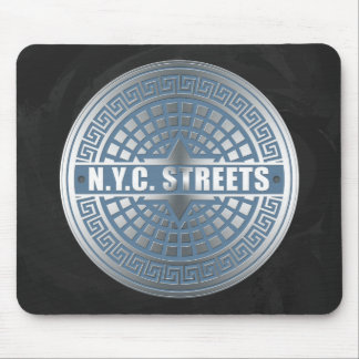 Manhole Covers NYC Mouse Pad