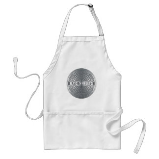 Manhole Covers Queens Adult Apron