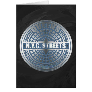 Manhole Covers Queens Card