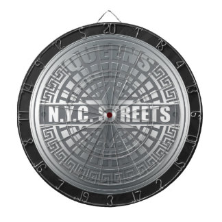 Manhole Covers Queens Dart Board