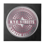 Manhole Covers Staten Island Small Square Tile