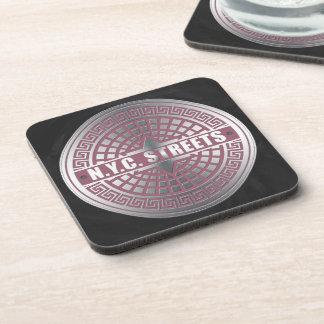 Manhole CoversNYC Beverage Coaster