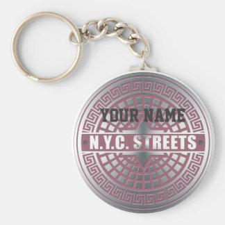 Manhole CoversNYC Key Chain