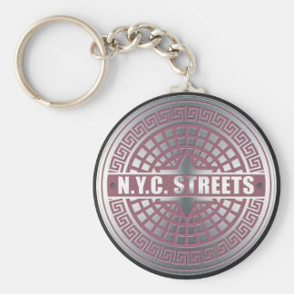 Manhole CoversNYC Keychain
