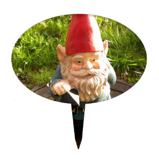 Manhole Gnome Cake Topper