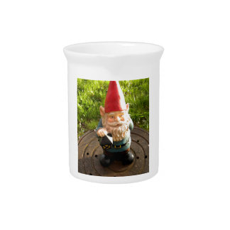 Manhole Gnome Drink Pitcher