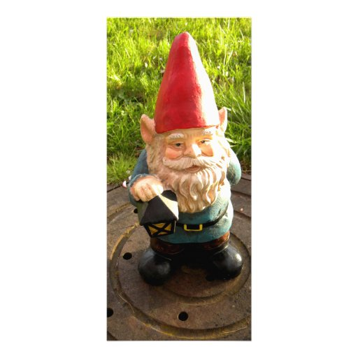 Manhole Gnome Full Color Rack Card