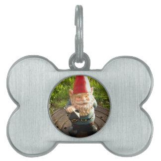 Manhole Gnome Pet Name Tag