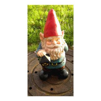 Manhole Gnome Photo Card Template
